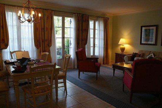 Marriott's Village d'lle-de-France : Spacious rooms for a group
