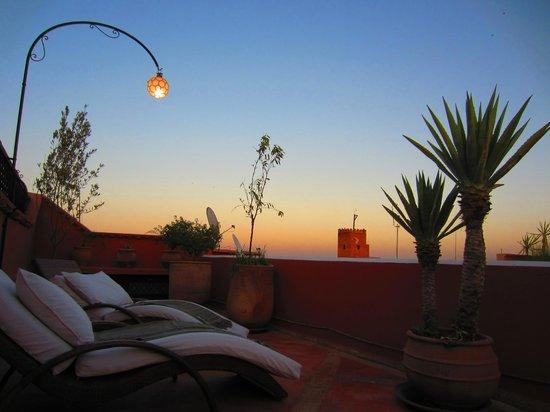 Riad l'Orangeraie : Rooftop terrace