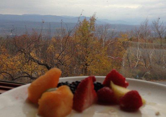 Mohonk Mountain House: Breakfast in Mohonk .....