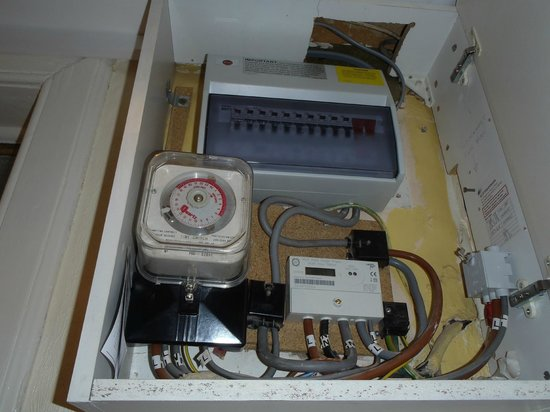 Stay Edinburgh City Apartments - Royal Mile : fuse box, we got to know quite well
