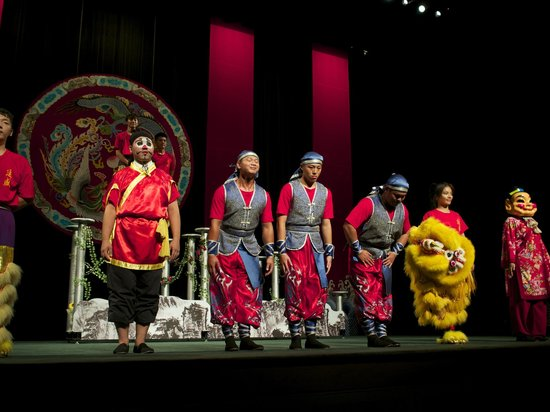 TaipeiEYE: Some of the Lion Dance cast