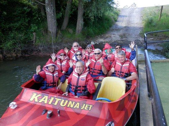 Cruise Tauranga: Kaituna Jet Boat Ride