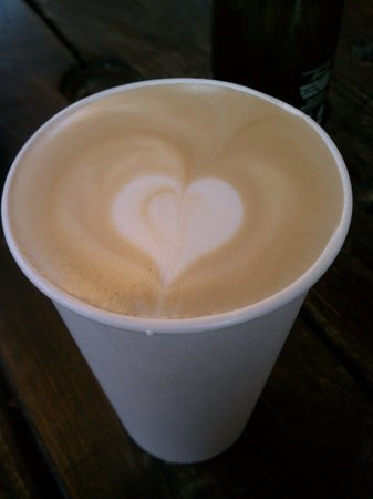 Insomnia Coffee Co.: Vanilla latte, made with love