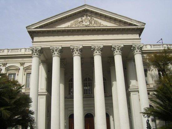 Ex Congreso Nacional: Fachada desde la calle