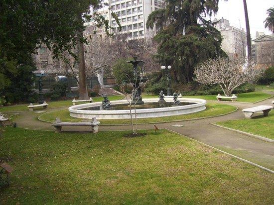 Ex Congreso Nacional: Jardines