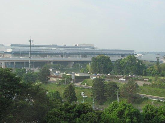 Narita Tobu Hotel Air Port: Вид из окна номера