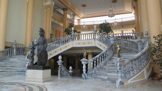 Palas Pineda : Холл. Зона ресепшен.