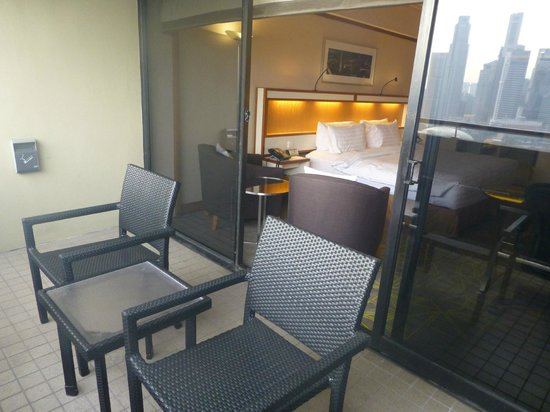 Pan Pacific Singapore : Balcony
