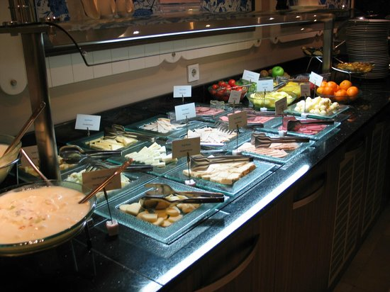 Neorion Hotel: Breakfast