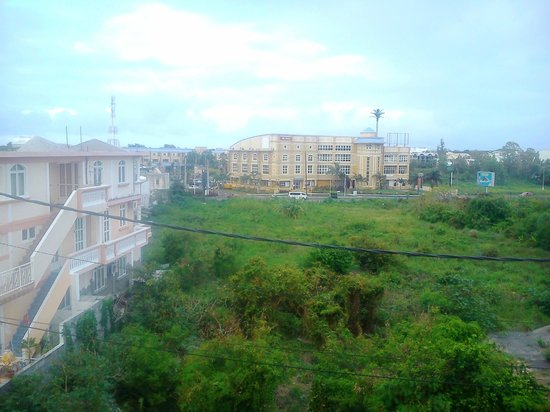 Monalysa St Honore Apartment & Studios: vista dal terrazzo