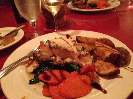 La Strada Italian Restaurant : Chilean Sea Bass!