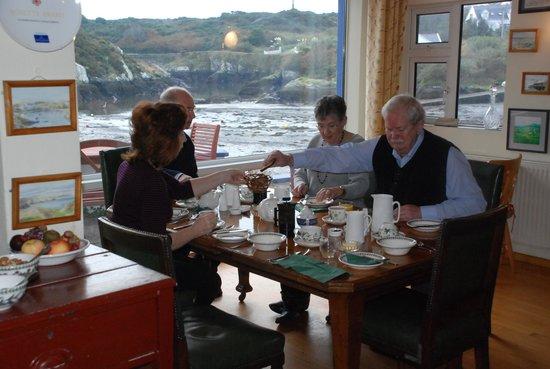 The Heron's Cove: breakfast