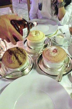 Salle Empire: dessert