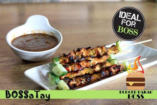 Burger Bakar BOSS: Bossatay trully XXL gril chicken satay