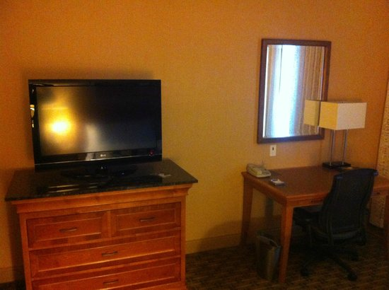 Hilton Seattle Airport & Conference Center : TV/Desk