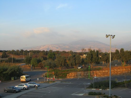 Hagoshrim Hotel & Nature: стоянка