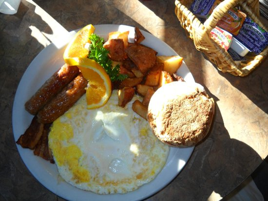 Rosine's Restaurant : Simple but great breakfast