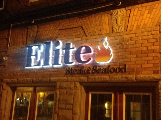 Elite Steak & Seafood : Steaks, Seafood? drop by Elite for a fantastic meal!!!