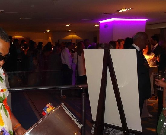 The Chelsea Harbour Hotel: Drinks reception at the Wyndham Grand