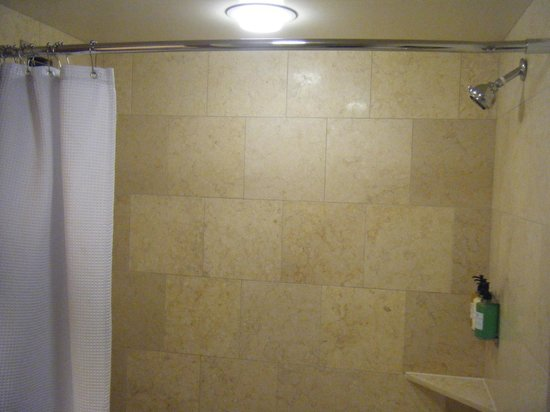 The Paramount Hotel : Shower