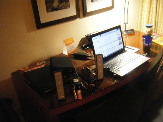 The Paramount Hotel: Work area