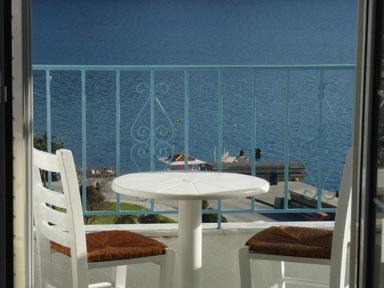 Agnantema: Balcony sea view