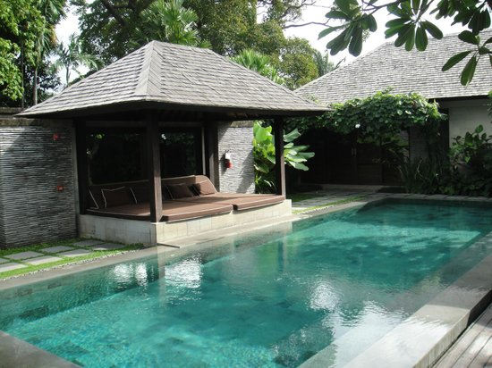 Peppers Seminyak: Private pool in the 4BR Presidential Villa