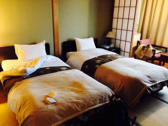 Tatami Room With Western Style Beds Picture Of Hotel