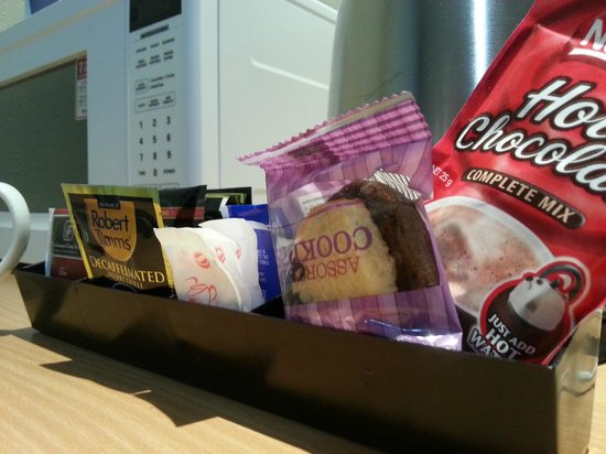 Ciloms Airport Lodge: lovely welcoming snacks