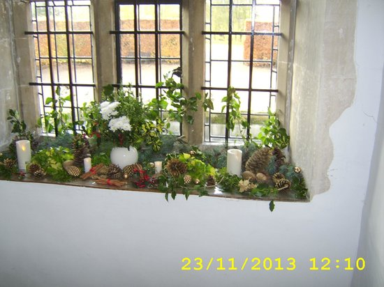Nunnington Hall: Spare Windowsill?