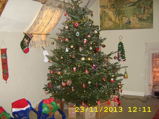 Nunnington Hall: And the Christmas Tree in Santa's Room