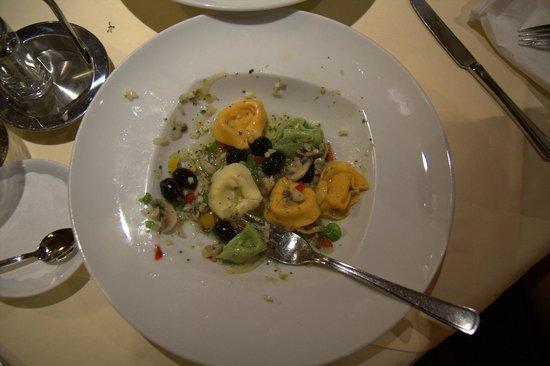 Hotel Lampenhäusl: Yummy vegetarian tortellini
