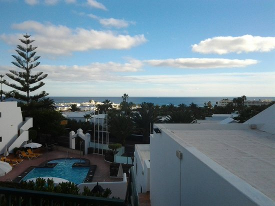 Apartamentos Villa Canaima: View from the balcony of apartment #1