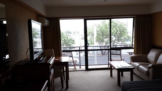 Distinction Whangarei Hotel & Conference Centre: superior room