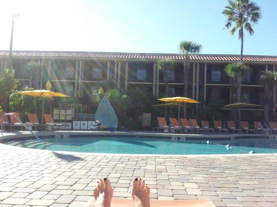 Doubletree by Hilton Orlando at SeaWorld: Pool area
