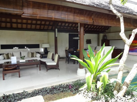 Villa Air Bali Boutique Resort & Spa: ヴィラまでの景色
