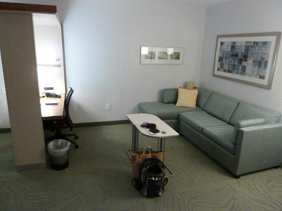 SpringHill Suites Potomac Mills Woodbridge: Lounge area