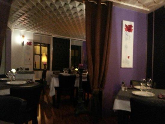 Restaurant Le 17 : La salle de restaurant