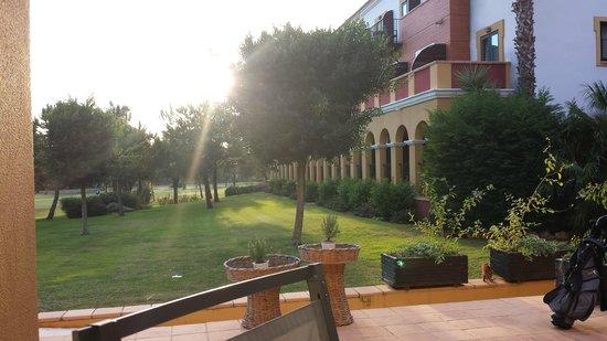 Hotel Isla Canela Golf: Terras