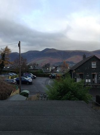 Crow Park Hotel Keswick : view from room 1