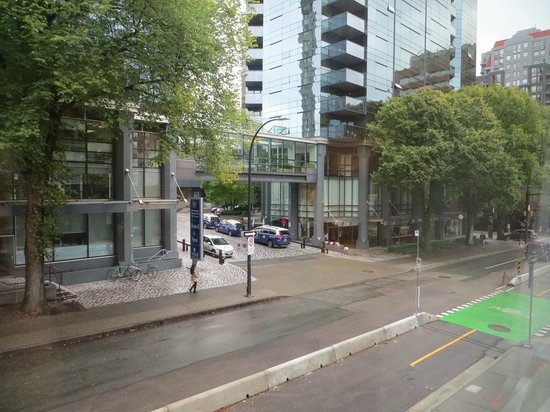 The Burrard : View from 209 on to Helmcken street