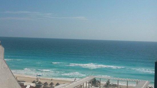 Sandos Cancun Luxury Resort: Vista desde habitacion