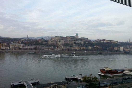 Budapest Marriott Hotel: Пасмурное утро