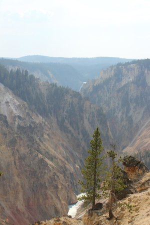 Inspiration Point: Yellowstone Canyon