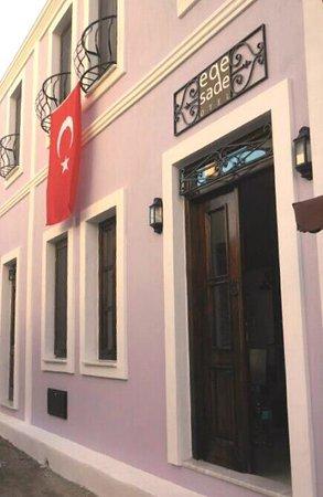 Egesade Otel: egesade facade&entrance