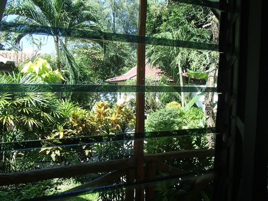 Samui Honey Cottages Beach Resort: View from the standard room