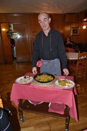 Restaurant Koxkera: Paella!!!