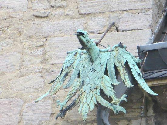 Schloss Wolfsburg: Detalle de la fachada