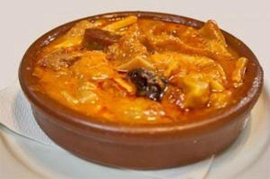 Restaurante Alcazar : callos a la madrileña