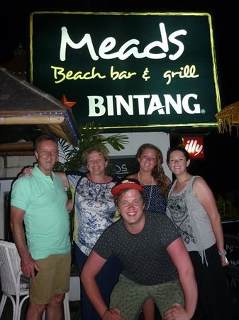 Meads Beach Bar & Grill: Meads Nov 2013